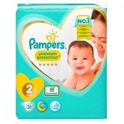 Pampers Premium Protection...