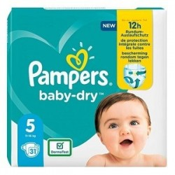 Pampers Windeln Baby Dry Gr.5