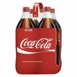 Coca-Cola,  4 x 1,5 l PET...