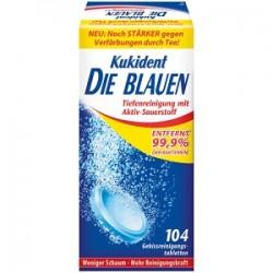 Kukident Die Blauen, 104 Tabs